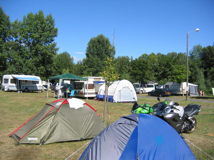 Emplacements camping Langeac